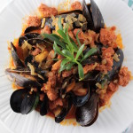 mussels with purslane 2