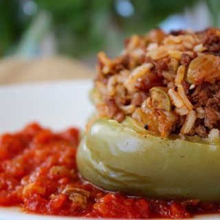 Empanada-Inspired Stuffed Peppers
