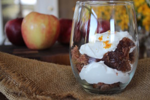 apple cake cream cheese bourbon
