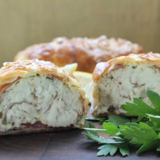 Fish Wellington with Herbs and Prosciutto