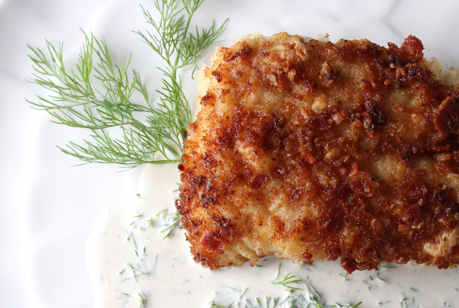 Grouper Panko Bacon 1