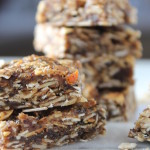 5 ingredient granola bars with calamondin
