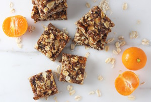 granola bars with calamondins