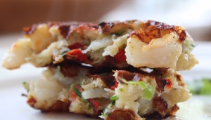 Shrimp Cake Pieces