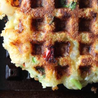 Shrimp Waffle Patty