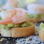 shrimp avocado toast 2