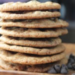 crispy chocolate chip cookie