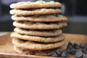 crispy chocolate chip cookie