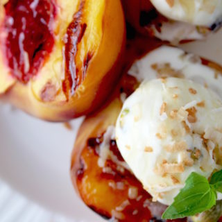 Grilled Summer Peaches