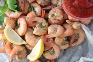 Steamed Gulf Shrimp