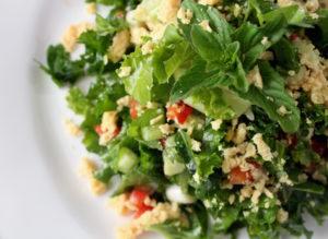 Kale and Sweet Chili Salad