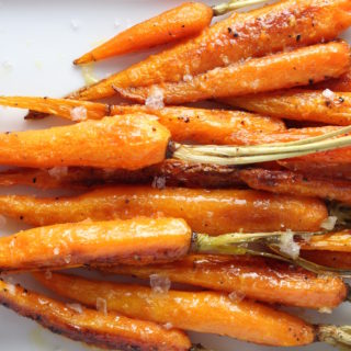 Roasted Carrots with Orange-Cumin Butter