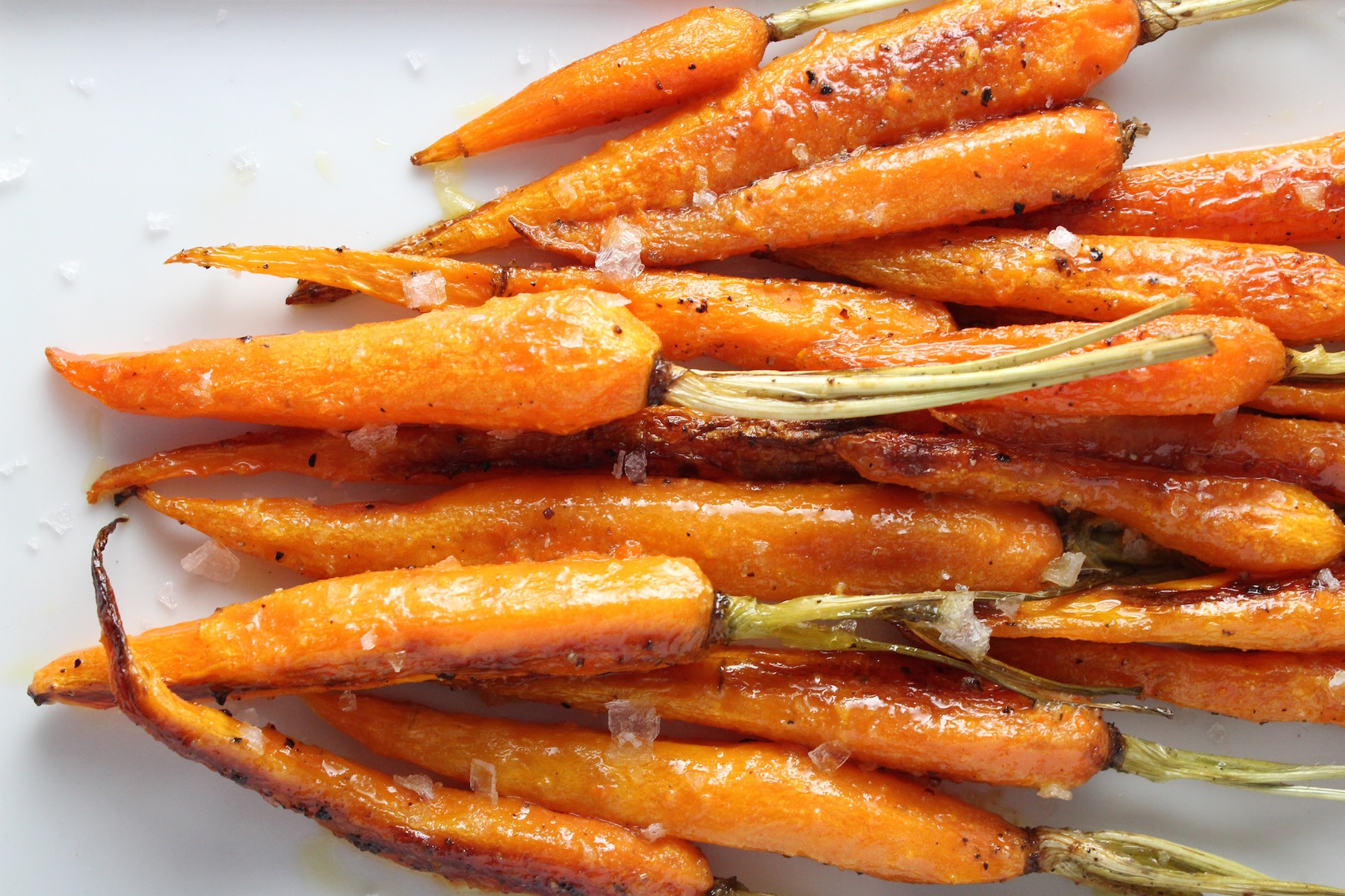 Roasted Carrots Cumin and Orange