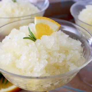 Lemon-Orange-Rosemary Granita