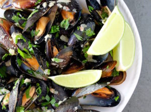 Mussels with Miso