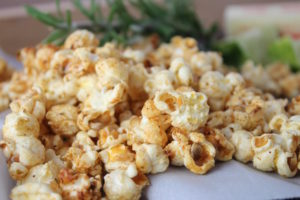 Lime Rosemary Honey Popcorn