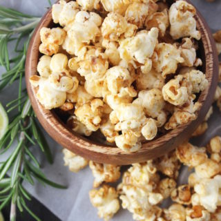 Lime, Honey & Rosemary Popcorn