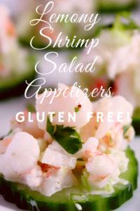 Lemony Shrimp Salad Appetizers