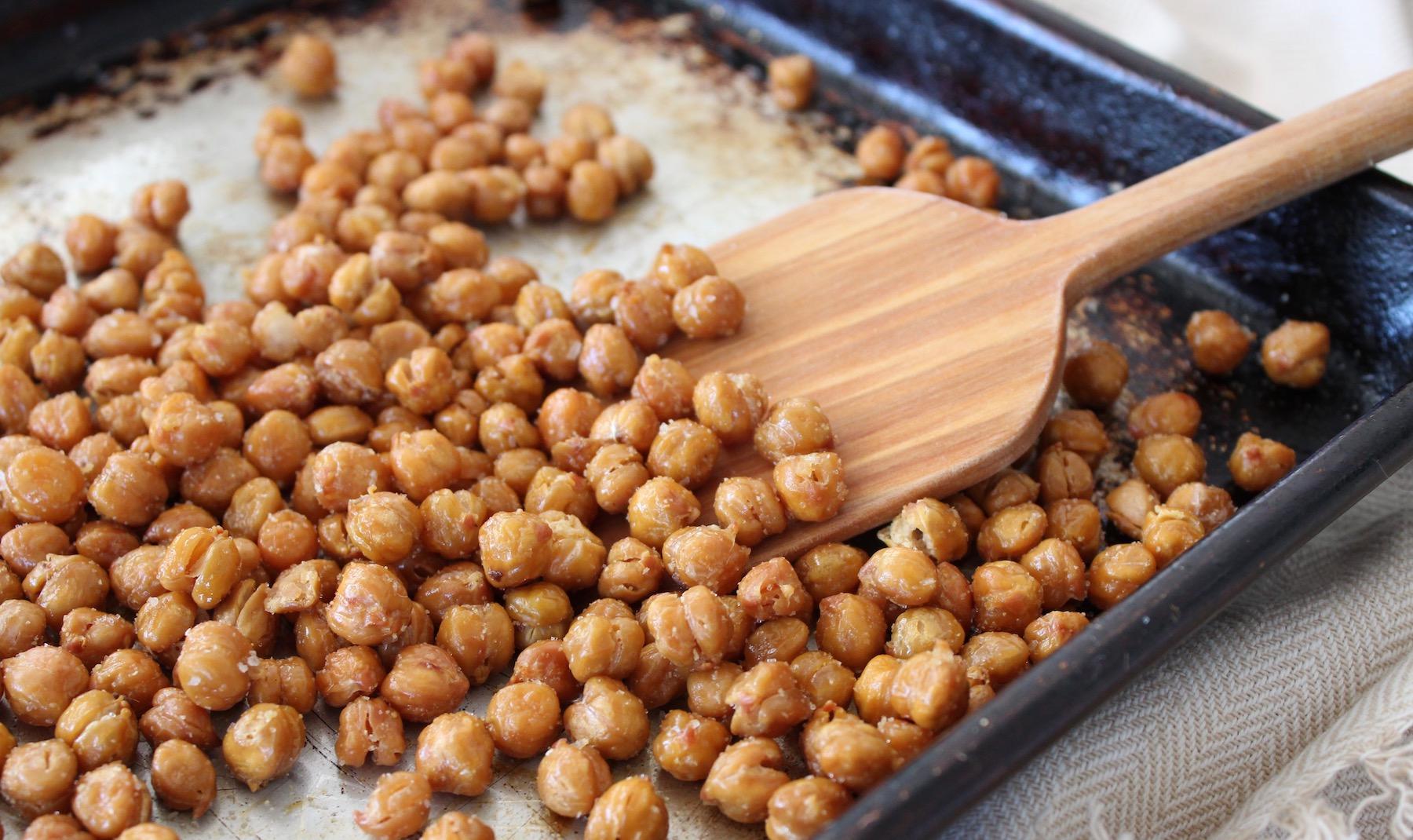 Crispy Crunchy Chickpeas