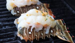 FL Lobster Tails on Grill