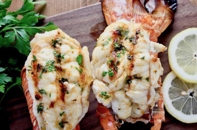Grilled Florida Lobster Tails