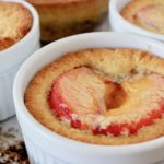 Oven Roasted Plum Cakes