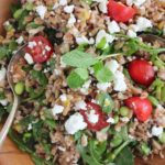Farrow Edamame Salad