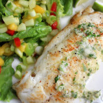 hogfish with ginger lime