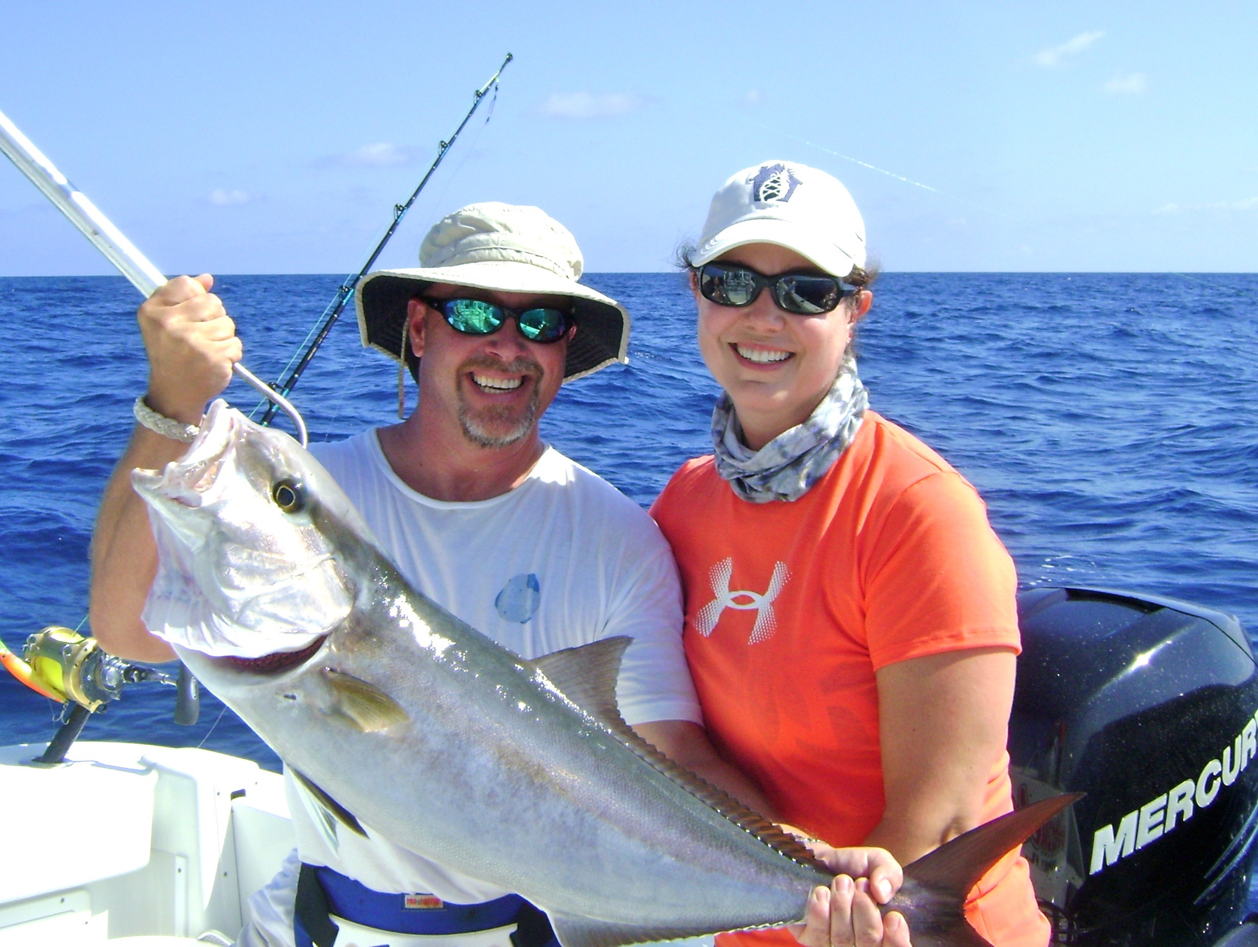 Nicole and Amberjack