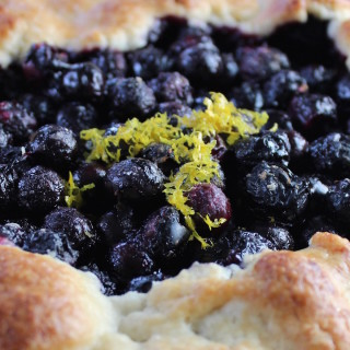 Blueberry Galette 2