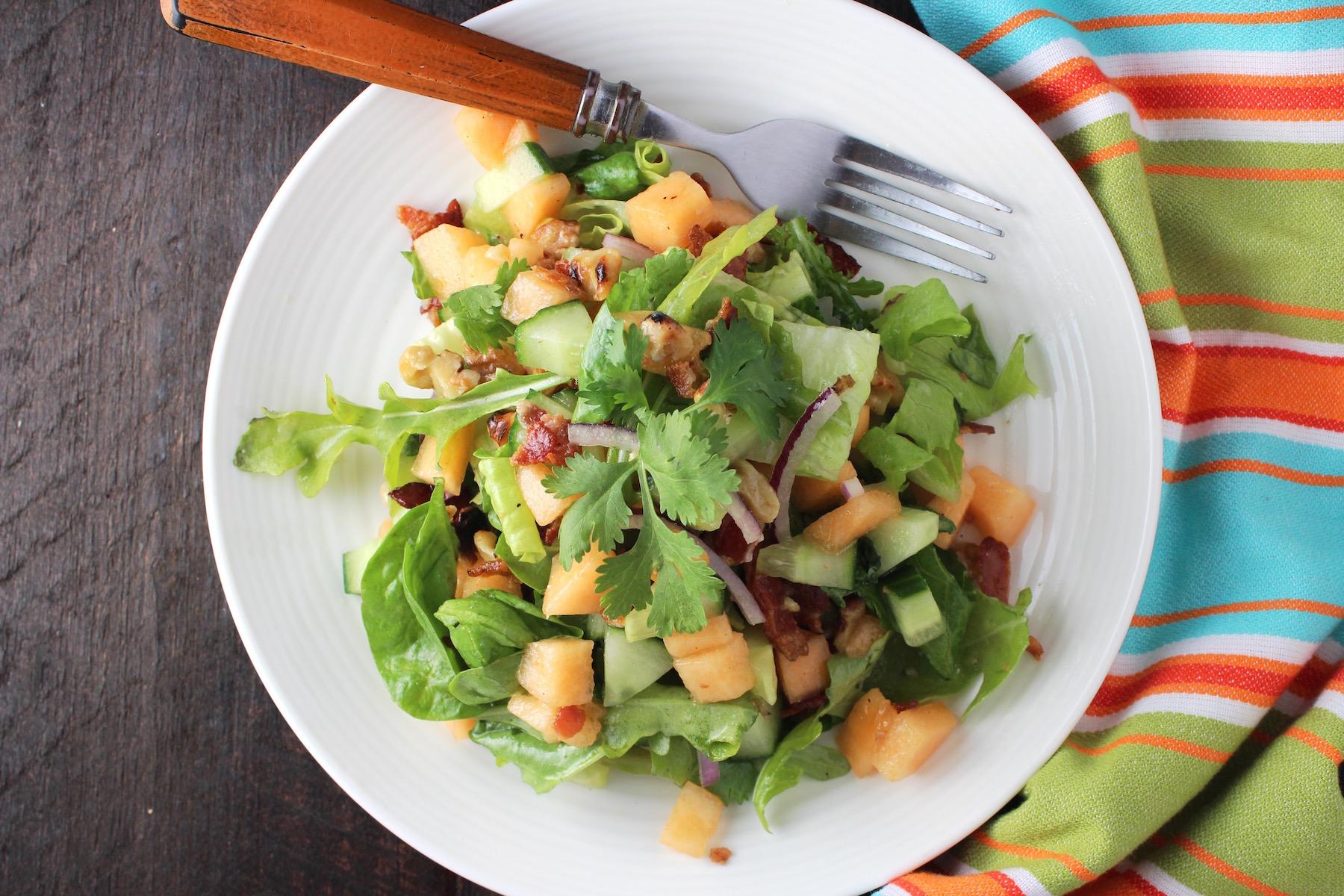 cantaloupe salad 1