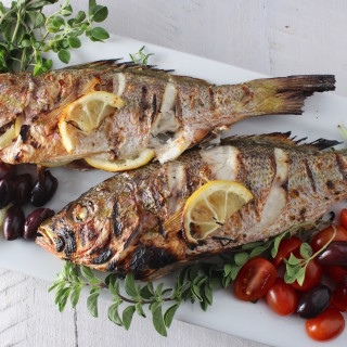 Greek-Style Roasted Fish