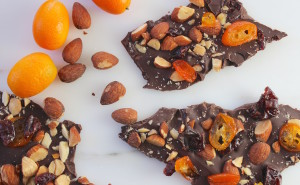 kumquat cherry almond bark