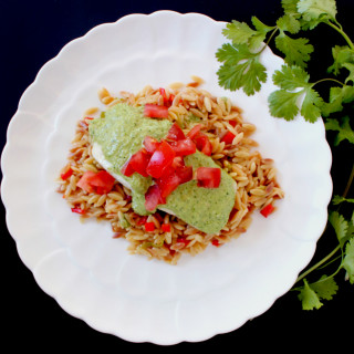Green Almond Sauce for Fish