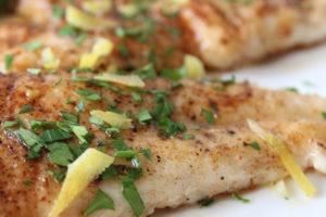 flounder brown butter