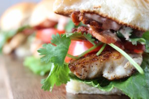 BLT with Fish