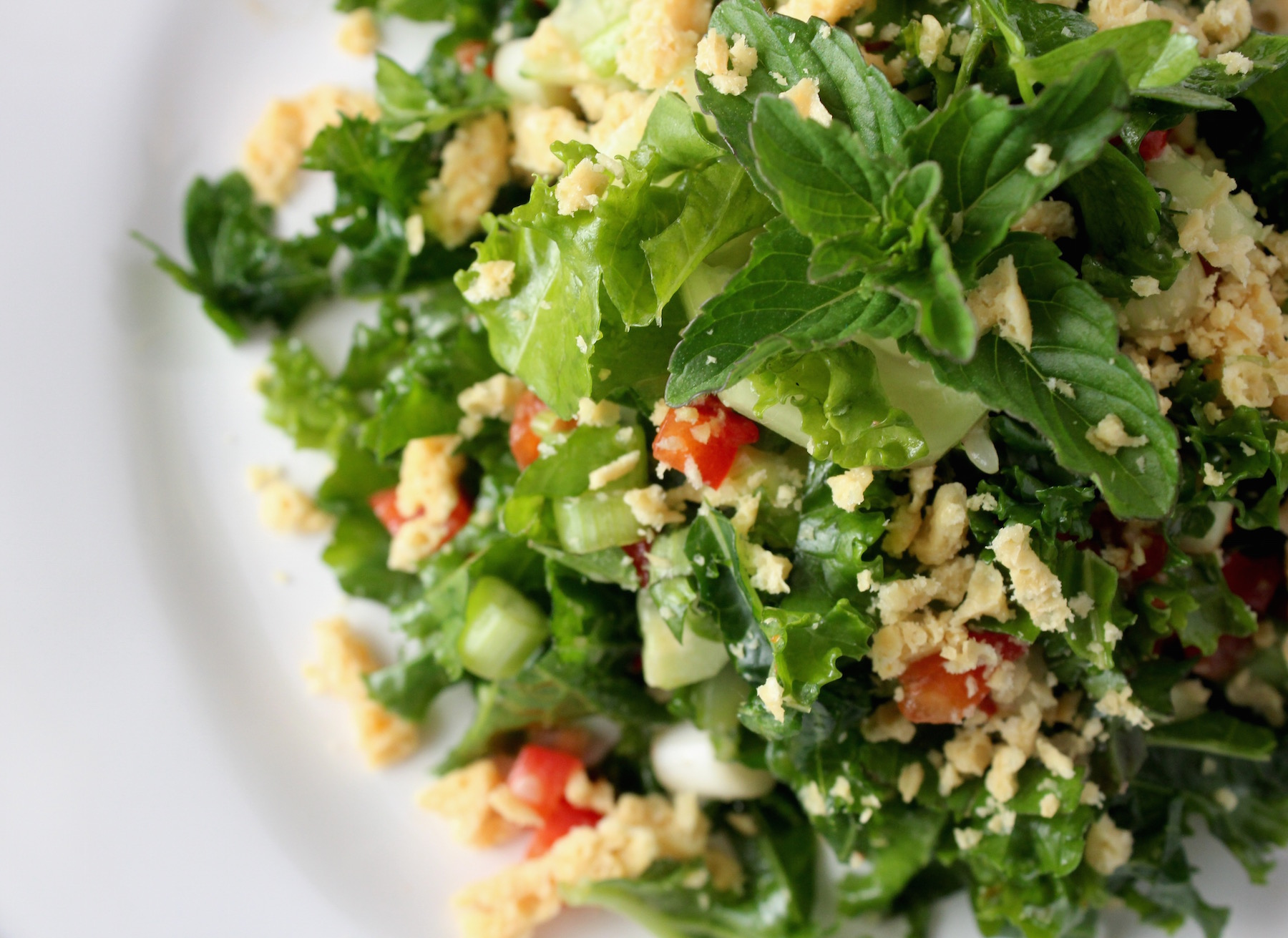 Kale and Sweet Chili Salad