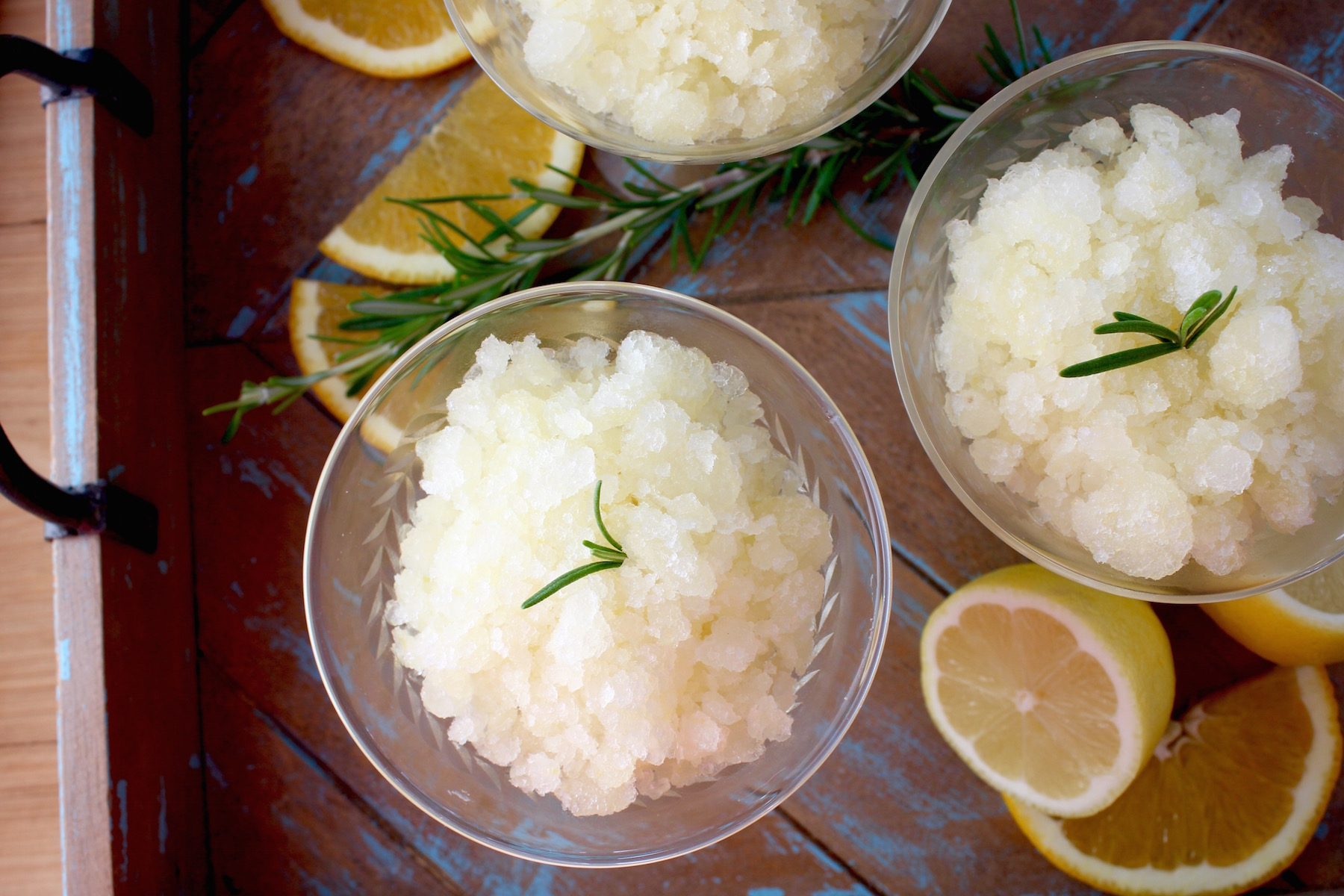 Lemon Orange Granita