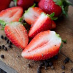 strawberries black pepper and balsamic