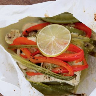 Fish in Parchment with Thai Flavors