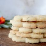 rosemary lemon shortbread