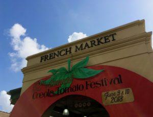 French Market entrance