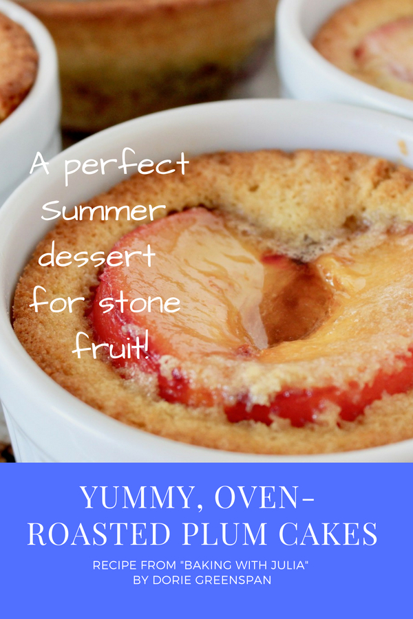 Roasted Plum Cake Graphic