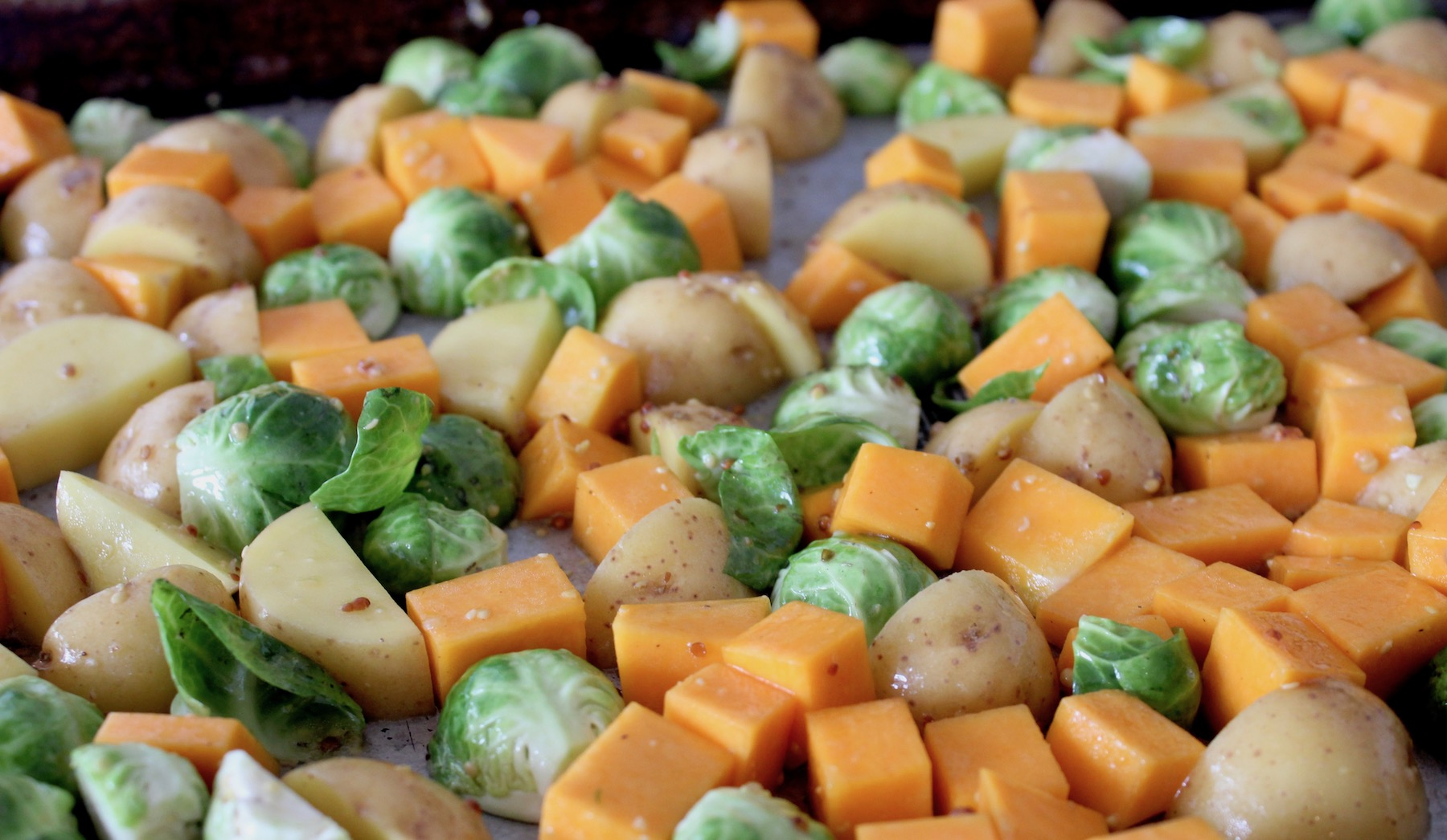 Butternut Brussels Potatoes