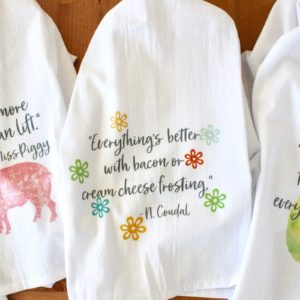 Culinary Quote Towels