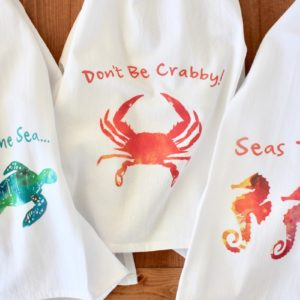 Sea Life Flour Sack Towels