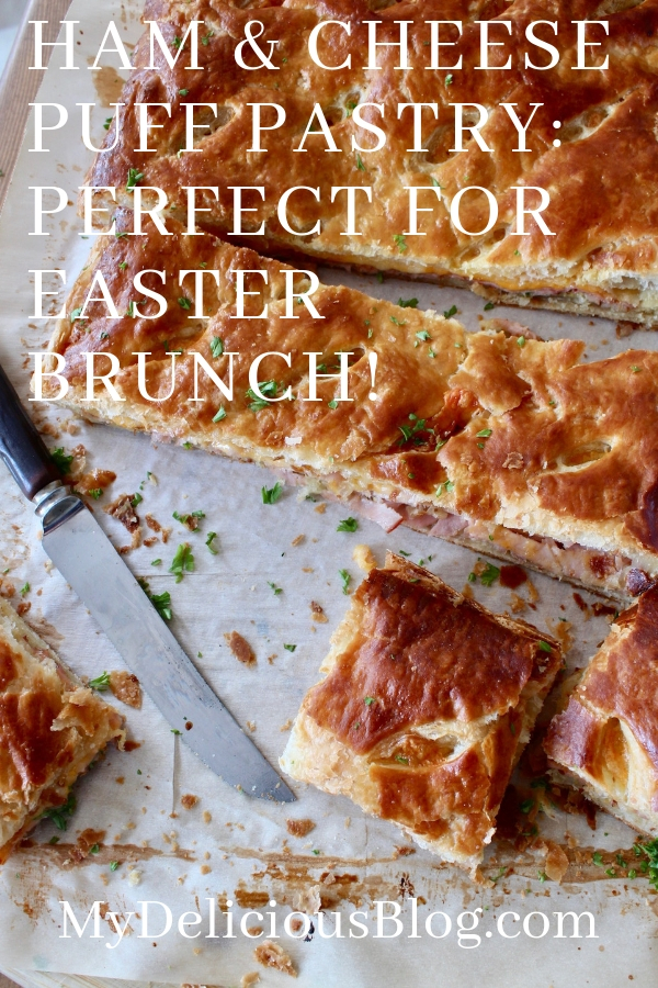 Ham Cheese Pastry Pinterest