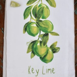 Key Lime Flour Sack Towel
