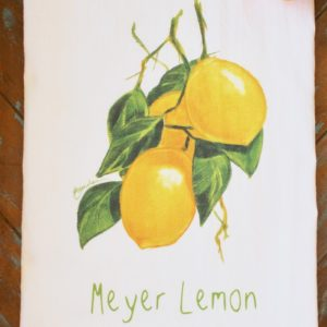 Meyer Lemon Flour Sack