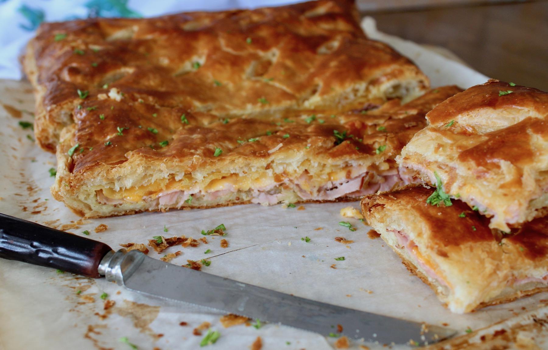 Puff Pastry Ham
